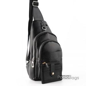 Мъжка чанта за носене на гърди или гръб 26519