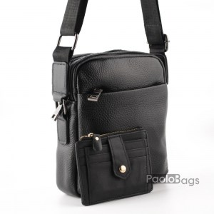 Луксозна мъжка чанта без капак